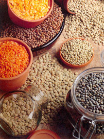 Lentils...one of nature's most perfect foods, and a carb satisfier